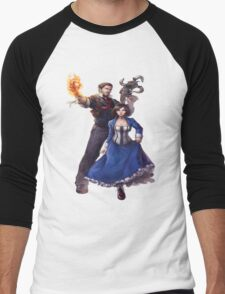 Bioshock realistic and cool design Men's Baseball ¾ T-Shirt
