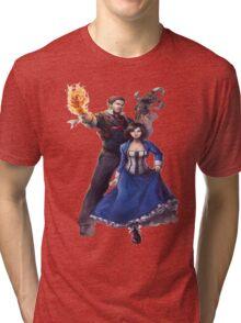 Bioshock realistic and cool design Tri-blend T-Shirt