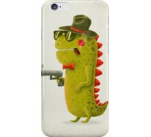 Dino bandito iPhone Case/Skin