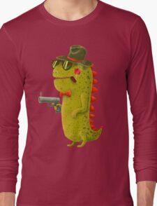 Dino bandito Long Sleeve T-Shirt