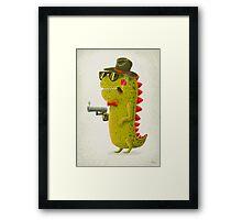 Dino bandito Framed Print