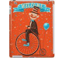 Penny-farthings circus iPad Case/Skin
