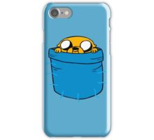 JAKE IN HIS POCKET iPhone Case/Skin