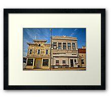 Shuttered in Clutier Framed Print