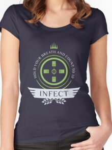 Magic the Gathering - Infect Life Women's Fitted Scoop T-Shirt