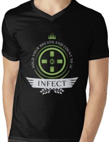 Magic the Gathering - Infect Life Mens V-Neck T-Shirt