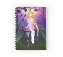 P is for Pixy Spiral Notebook