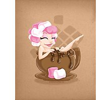 Sweet <3's - Miss Cocoa Photographic Print