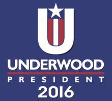 Underwood for President, 2016 by sandrasilvers
