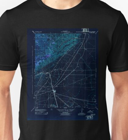 USGS TOPO Map California CA Mojave 298209 1943 62500 geo Inverted Unisex T-Shirt