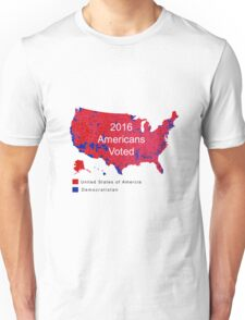 The Map Democrats Don't Want You To See Unisex T-Shirt