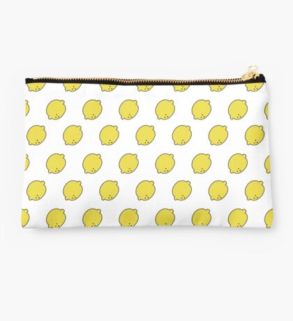 doodle lemon pattern Studio Pouch