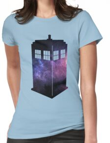Galaxy T.A.R.D.I.S. Womens Fitted T-Shirt