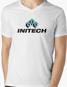 Initech Logo Mens V-Neck T-Shirt