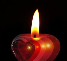 Candle heart 2 by franceslewis