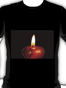 Candle heart 2 T-Shirt