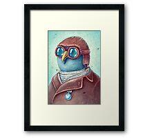 Pilot Captain Ivan Twittor Framed Print