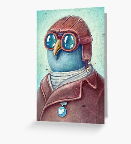 Pilot Captain Ivan Twittor Greeting Card