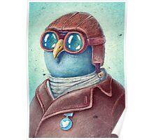 Pilot Captain Ivan Twittor Poster