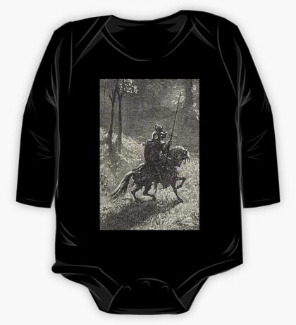 Don Quixote, Don Quijote, Gustave Doré, one of the 500 created for the work One Piece - Long Sleeve