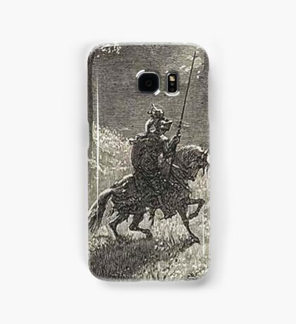 Don Quixote, Don Quijote, Gustave Doré, one of the 500 created for the work Samsung Galaxy Case/Skin