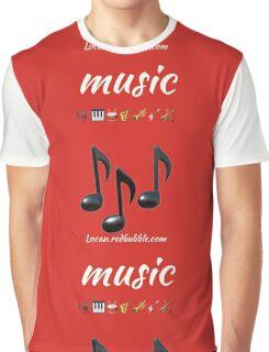 music emojis Graphic T-Shirt