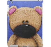 Teddy Bear in Blue iPad Case/Skin