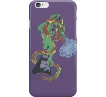 new raging dragon and guitar iPhone Case/Skin