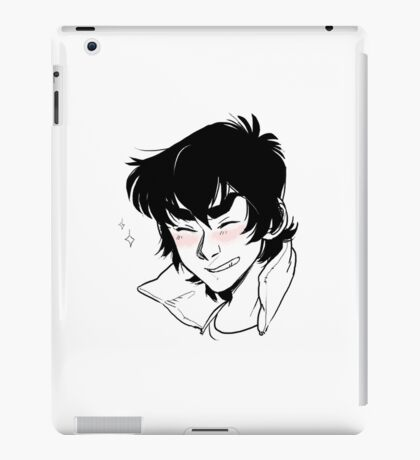 """A really happy person inside"" iPad Case/Skin"