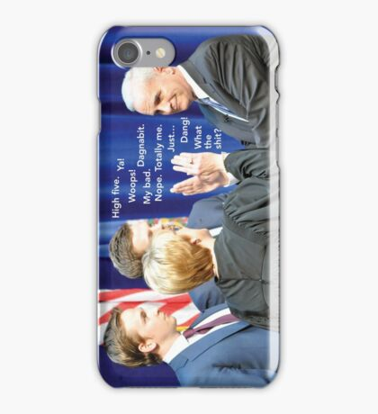 Historic Inaugural High-Fives #5, Mark Dayton iPhone Case/Skin