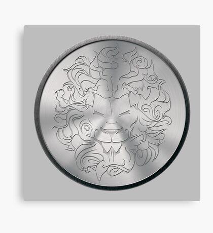 Lion Crest® - Medallion Canvas Print