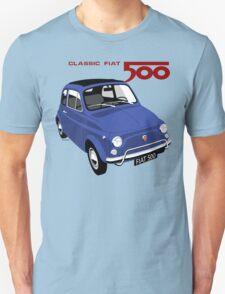 Classic Fiat 500L blue T-Shirt