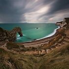 Storm approaching - Durdle door by EwanHitchcoe