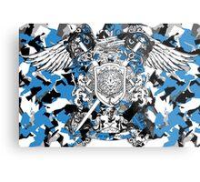 Lion Crest® - Camo Coat of Arms Metal Print