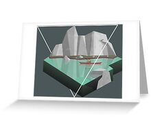 Geometric exploration Greeting Card