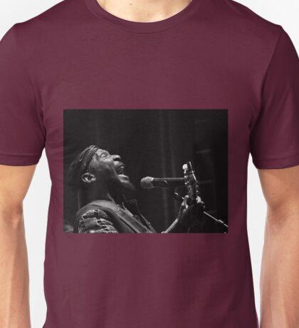 The wonderful Jimmy Cliff 6 (n&b)(t) by expressive photos ! Olao-Olavia by Okaio Créations  Unisex T-Shirt