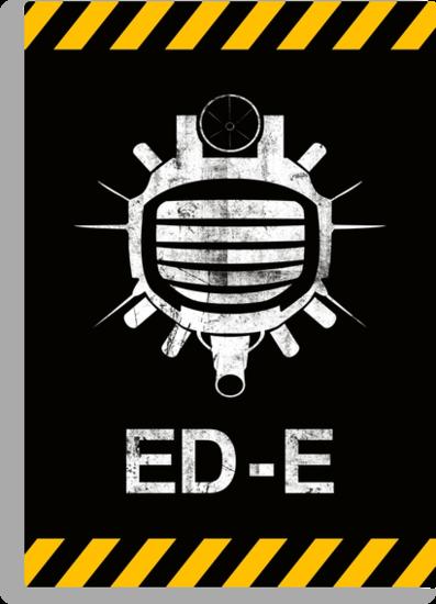 Fallout: ED-E [WHITE] by Styl0