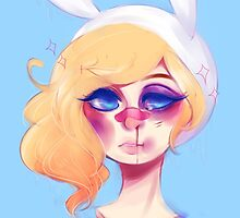 Fionna the tough human by PastelQueen