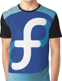 Fedora Linux Logo Graphic T-Shirt