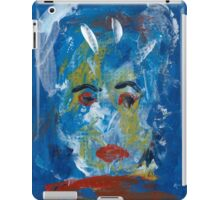 Abstract Face Broken Mirror iPad Case/Skin