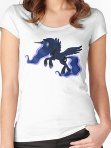 My little Pony: Friendship is Magic - Princess Luna - Night Flight Women's Fitted Scoop T-Shirt