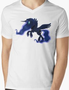 My little Pony: Friendship is Magic - Princess Luna - Night Flight Mens V-Neck T-Shirt