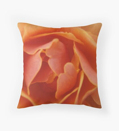 Salmon Throw Pillow