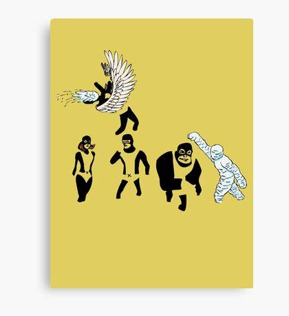 Children of the Atom Canvas Print