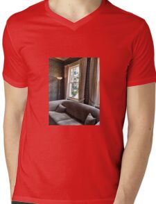 Waiting Room Mens V-Neck T-Shirt