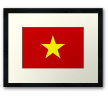 Flag of Vietnam Framed Print