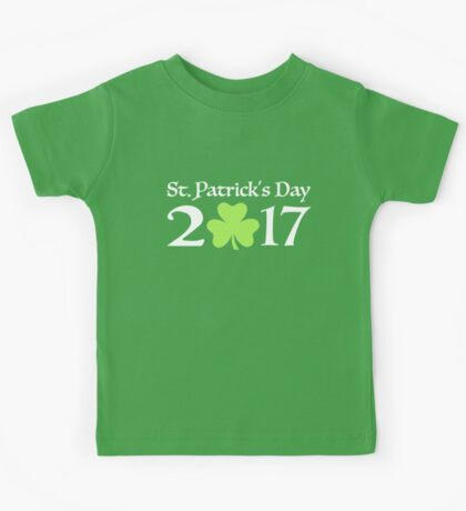 St. Patricks day 2017 Kids Tee