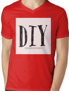 DIY Mens V-Neck T-Shirt