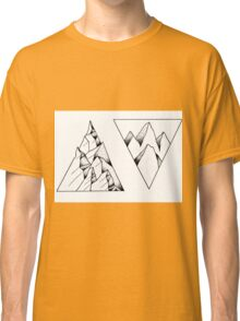 triangular rocks Classic T-Shirt