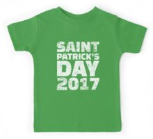 St. Patricks day 2017 Kids Tee